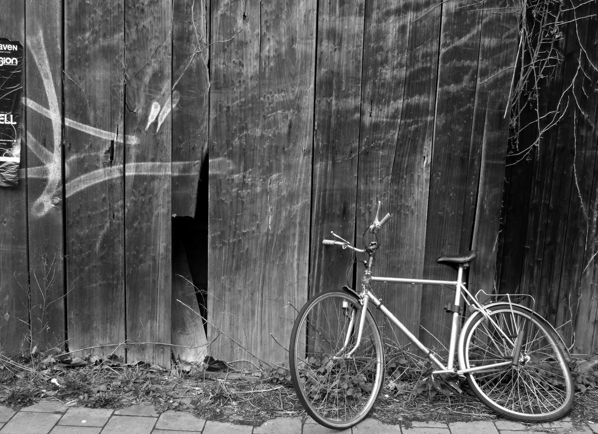 Broken Bike, Münster, ger.