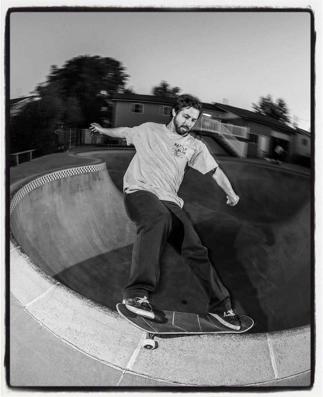 Stefan Wilson shredding Mike's clover pool yesterday
