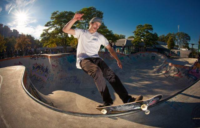 Tom frontside feeble at the Berg a couple years ago @mrtomsch @koloss_skateboards